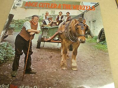 Adge Cutler And The Wurzels,lp On Columbia,sx 6126.1968
