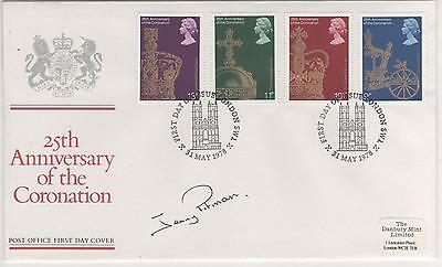 """Jenny Pitman - Signed - 1978 """"royalty""""  First Day Cover"""