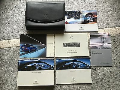 Mercedes Benz Clk W209 Coupe Owners Manual Handbook & Wallet Set 2002-2004