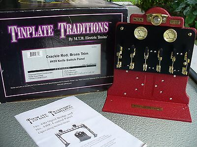 M.T.H. Tinplate Traditions #439 Knife Switch Panel- 10-4043