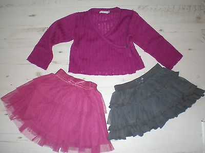 Girl's CARDIGAN & TUTU SKIRT Bundle Noppies Vertbaudet Age 2 Party
