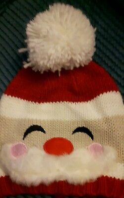 Father Christmas boble hat for children