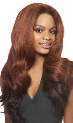 Dominican Blowout Relaxed - Outre Batik Quick Weave Synthetic Half Wig