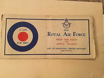 Royal Air Force Vintage Recruiting