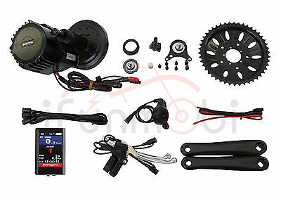 Bafang/8Fun 48V 1000W BBS03 BBSHD Mid-Drive Motor Conversion Kits For E-Bike