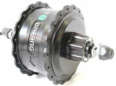 Bafang 36V/48V 500W High Speed Brushless Geared DC Fat Tire Rear Wheel Hub Motor