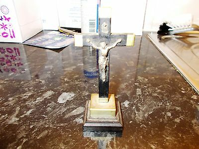 Small Vintage Free Standing Crucifix
