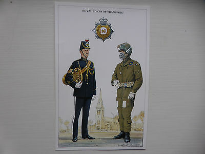 British Army Series Post Card c 1992. Royal Corps of Transport