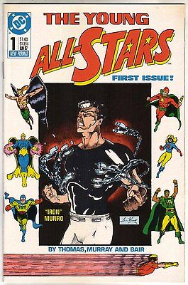 Young All-Stars #1, 7, 8 (VF/NM)