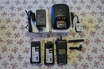 Motorola DMR DP4801 UHF Radio bundle with Impres Charger and 2 Batteries