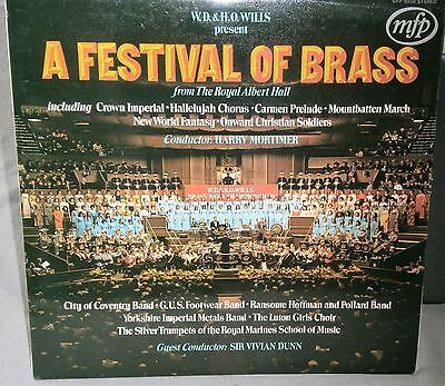 W.d. & H.o. Wills Present A Festival Of Brass From The Royal Albert Hall Mfp Lp