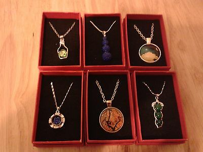 Wholesale Joblot 6 New Necklaces Gift Boxed