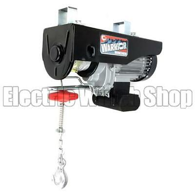 Warrior 500kg 240v Electric Gantry Lifting Hoist ideal for Workshop/Garage