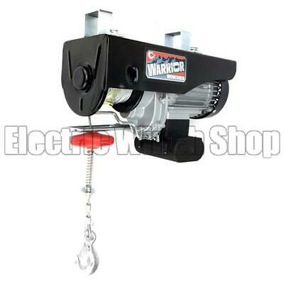 Warrior Power Products 500kg 240v Electric Hoist with Air Socket