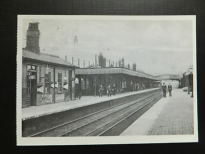 postcard: NEWARK Northgate Railway / Train Station (Great Northern Station 1906)