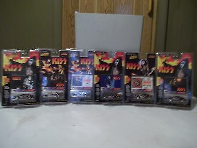 Six Johnny Lightning Kiss Cars Unopened.