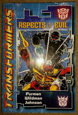 Transformers Aspects Of Evil & Perchance To Dream Digest Tpbs Rare Nm