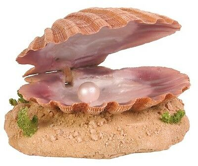 Trixie Sea Shell with Air Outlet For Bubble Flow - Fish Tank Ornament 8808