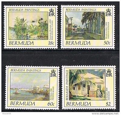 Bermuda 1990 Paintings MNH