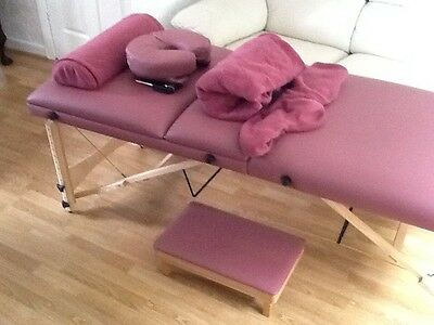 leather treatment couch,  stool and accessories