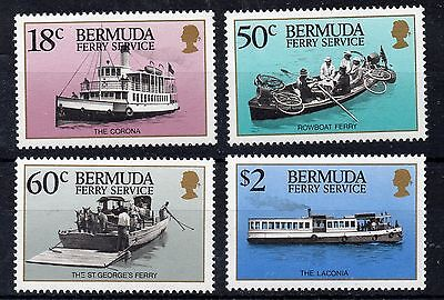 Bermuda 1989 Transport. Ferry Services MNH