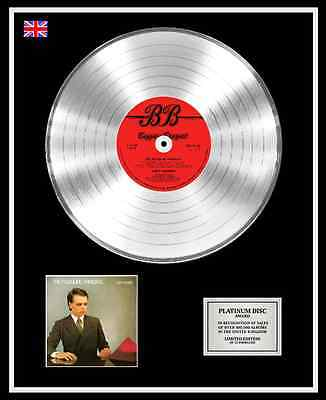 GARY NUMAN Ltd Edition CD Platinum Disc Record THE PLEASURE PRINCIPLE