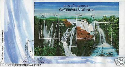 India Fdc 2003 Waterfalls Of India