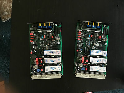 ntp 179-500B Limiter Compressor (2 cards for Stereo)