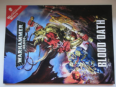 Warhammer 40k Blood Oath CAMPAIGN Supplement Warhammer World Only NEW Rulebook