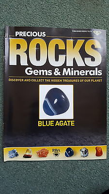 Precious Rocks Gems and Minerals Magazine Issue 5 BLUE AGATE