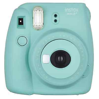 Fujifilm Instax Mini 8+ (Mint) Instant Film Camera + Self Shot Mirror for Selfie
