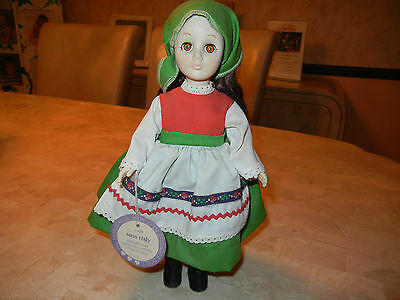 Effanbee Doll # 1106 Miss Italy  Made In Usa