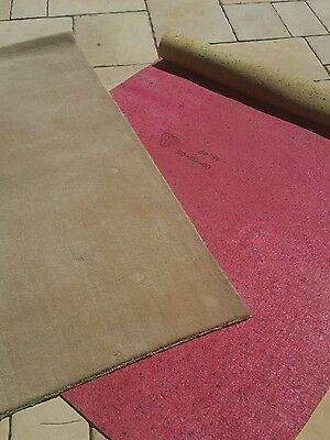 Used carpet and underlay  - latte in colour 100% acrylic