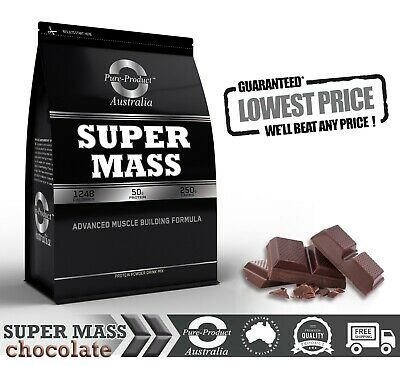 6Kg Chocolate Super Mass Gainer  Whey Protein  - Complete Gains
