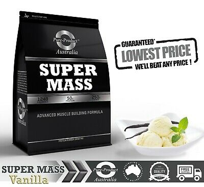 6Kg  Vanilla Super Mass Gainer  Whey Protein  - Complete Gains
