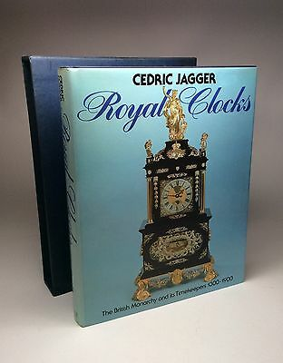 Rare Book. Royal Clocks The British Monarchy & Its Timekeepers by Cedric Jagger