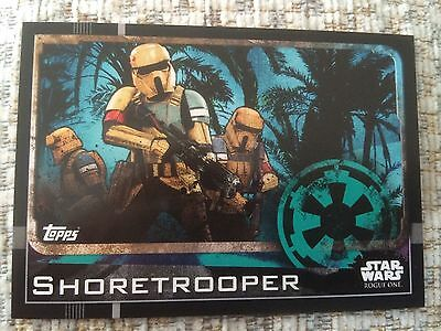 TOPPS STAR WARS ROGUE ONE - Shore trooper # 29