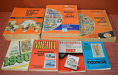 Various Stanley Gibbons Stamps Of The World Catalogues - free UK postage
