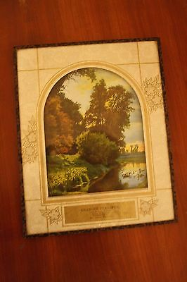 Antique Vintage Advertising Picture New London, Wis Granger Transfer