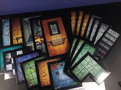 Warhammer Quest : Games Workshop : Complete Set of Dungeon Tiles