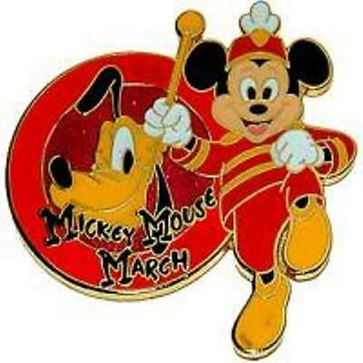 Disney Pin - Disney Store - Mickey Mouse March (Pluto)