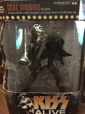 "Kiss Gene Simmons The Demon 12"" Figure Alive Tour Factory Sealed Mc Farlane Toys"