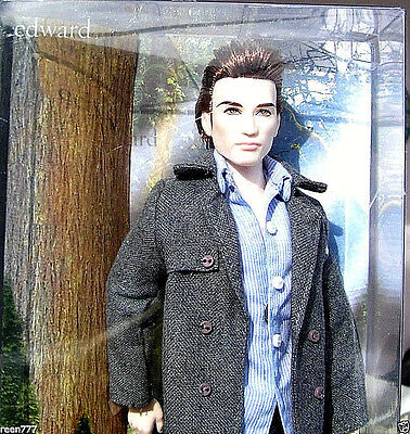 EDWARD First Edition Twilight Vampire Goth Breaking Dawn 1 Barbie Ken Doll R4161