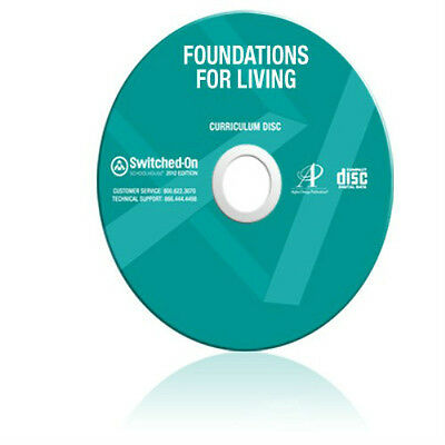 SOS Foundations for Living Homeschool Curriculum CD Switched On Schoolhouse
