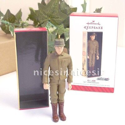 Hallmark 2014 G I Joe 50th Anniversary Limited Edition Collection Xmas Ornament