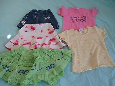 Girls Size 1 Tops And Skirts