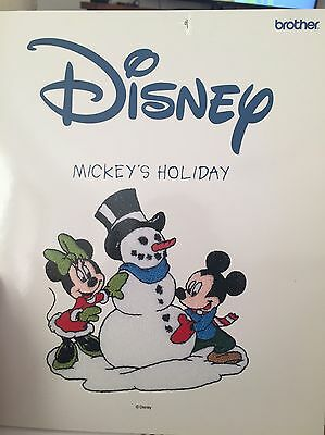 Disney Embroidery Card
