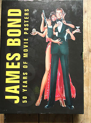 James Bond 50 Years Of 007 Movie Posters Large Book