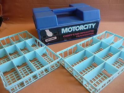 Matchbox Car Carry Case/Box with Trays