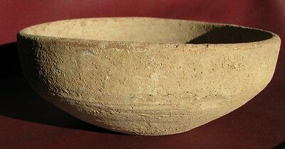 Ancient Artifact > Herodian Era Clay Pottery Bowl      RT 234